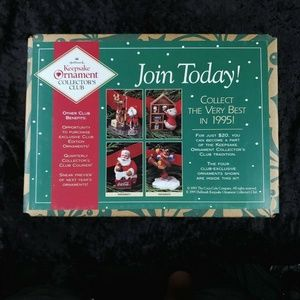Hallmark Keepsake Ornament Collectors Club Set